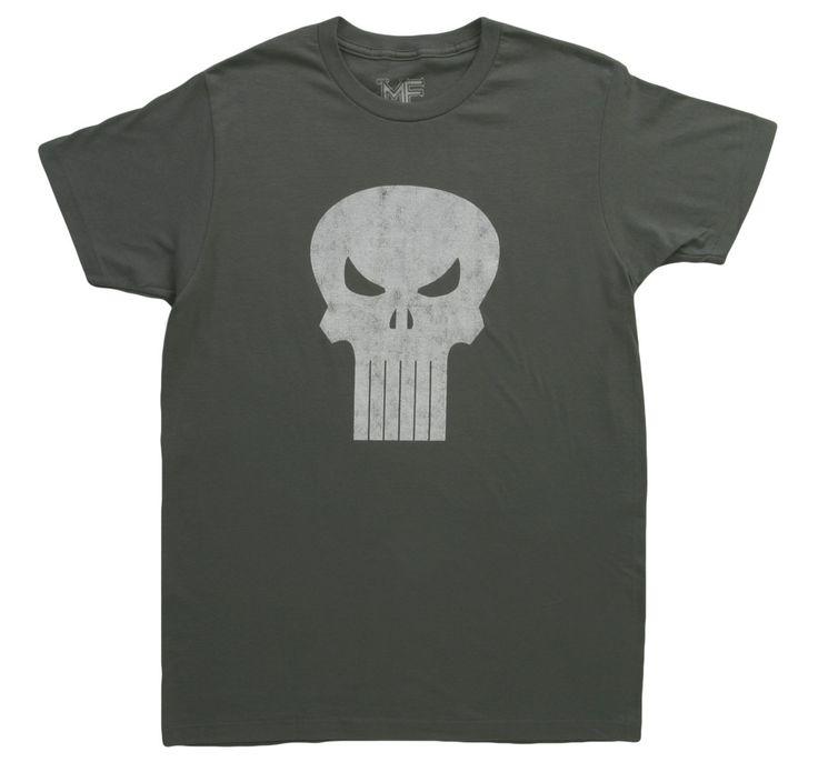 Distressed Punisher T-Shirt