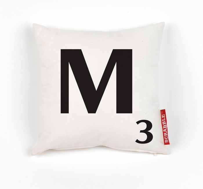 17 best images about 0 0 7 s k y f a l l on pinterest for Letter m cushion