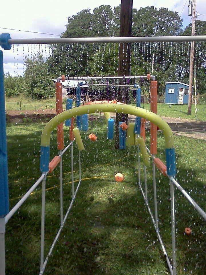 25 best backyard water parks ideas on pinterest