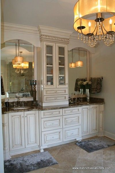 161 best images about master bath ideas on pinterest - Bathroom vanities with storage towers ...