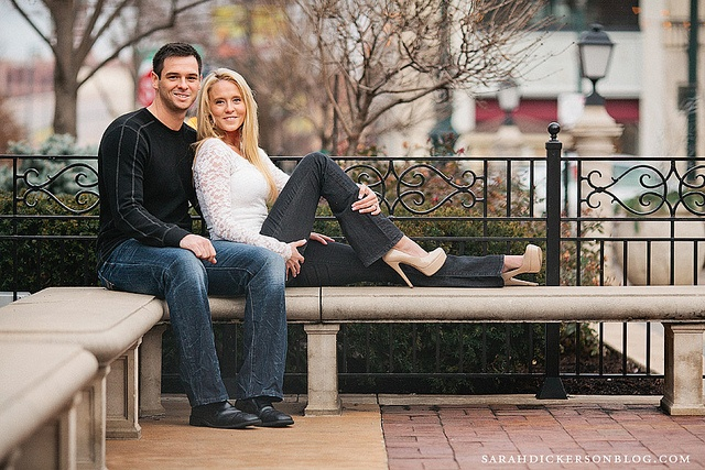 Country Club Plaza Kansas City engagement photography by SarahDickersonPhoto, via Flickr