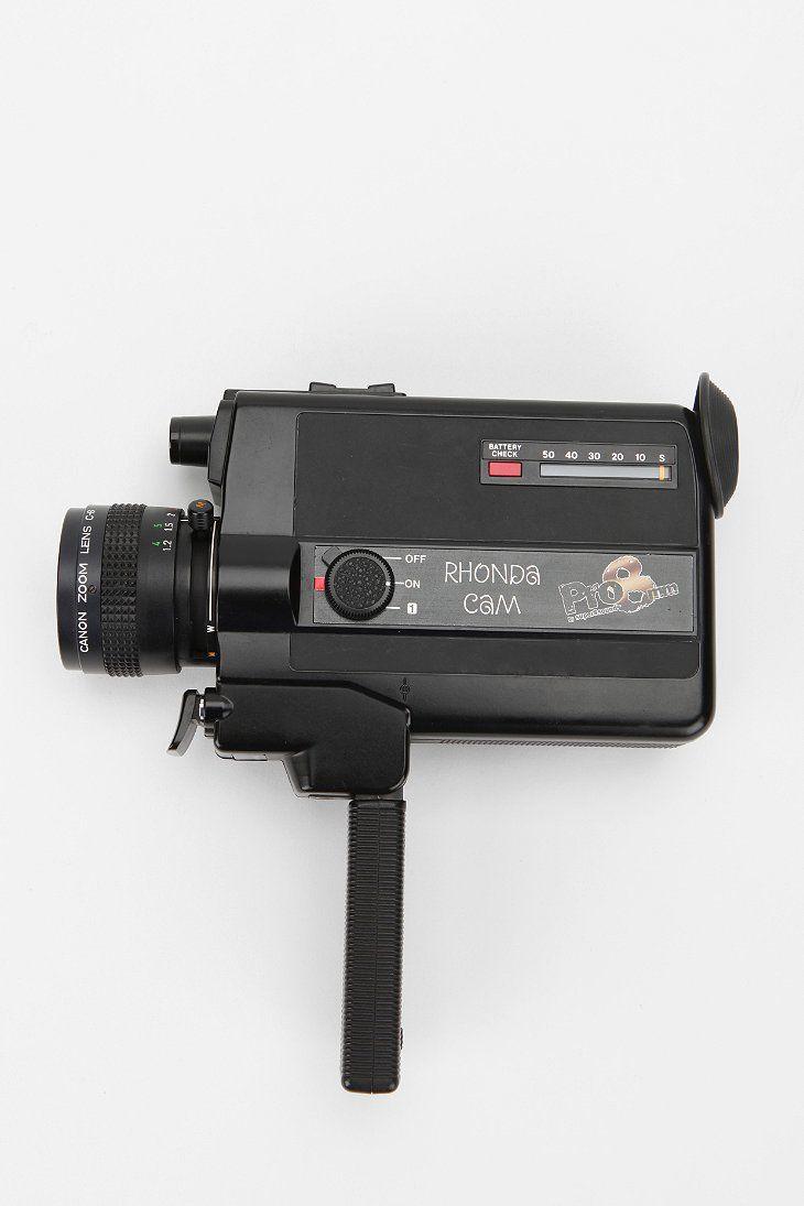 8mm film camera :)