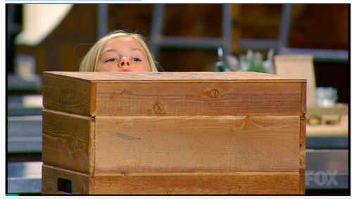 "25 Reasons ""Masterchef Junior"" Is The Best Show On TV - BuzzFeed Because they can't even see over their mystery boxes."