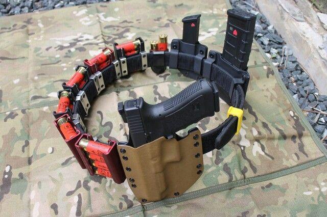 3 Gun Competition Belt