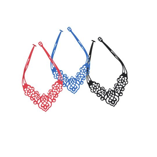 #40weft S/S 2015 #womancollection #accessories #necklace #silicon #lasercut #fashion #repin #contactus  www.40weft.com