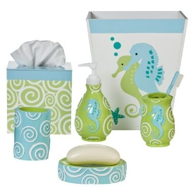 Once we have our own place I really want a seahorse bathroom for me and my seahorse cap'n, @Joe Jonge Galbo
