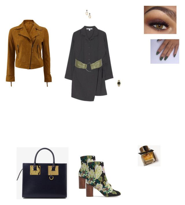 """""""Senza titolo #1005"""" by alexa-ga ❤ liked on Polyvore featuring Sole Society, Meteo by Yves Salomon, Marni, Burberry, Rolex, Sophie Hulme and Stephen Collins"""