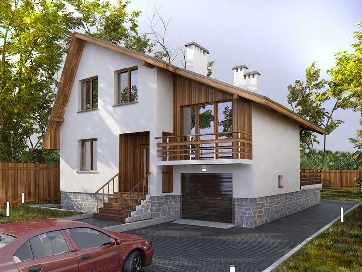 проекты небольших двухэтажных домов 6 НА 9 МЕТРОВ ДЛЯ КРЫМА: 20 тыс изображений…