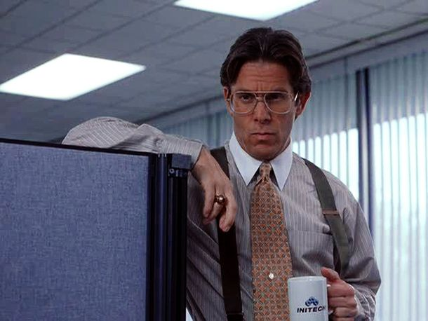 Bill Lumbergh (Gary Cole, Office Space) - Did you get that memo about the TPS reports?