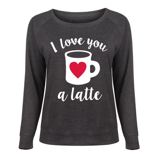 Women's Airwaves LLC Ladies Plus Valentine's Slouchy Pullover 1X... ($22) ❤ liked on Polyvore featuring plus size women's fashion, plus size clothing, plus size tops, black, tops & tees, slouchy tops, sweater pullover, graphic tops, slouchy pullover and pullover top