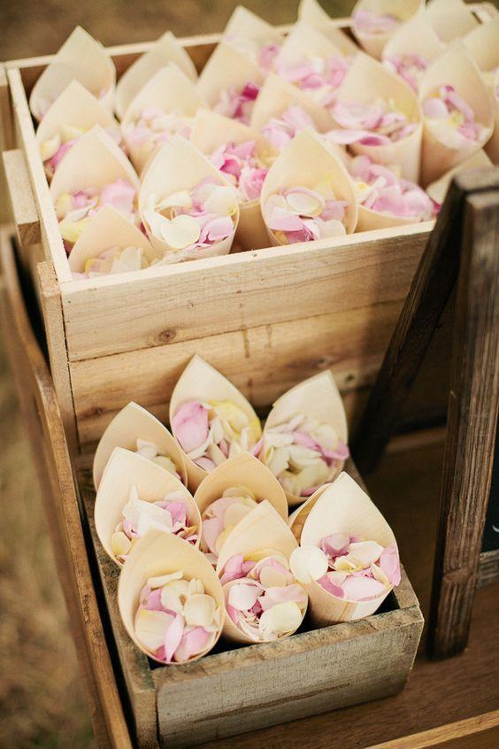 flower petal confetti