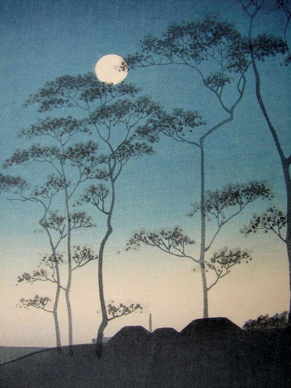 Koho Shoda ~ Canal By Moonlight