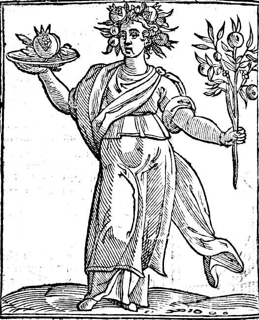 Concordia, Iconología Cesare Ripa