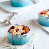 Nectarine & Raspberry Cobbler – Summertime Memories by whiteonricecouple