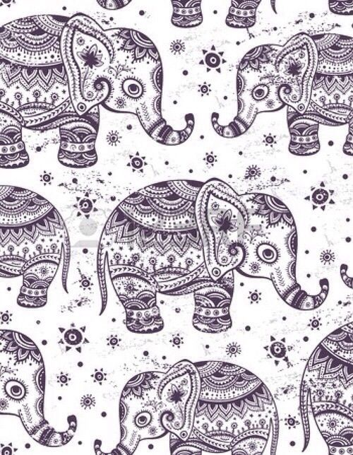 Image via We Heart It #adorable #animal #animals #background #cute #elephant #elephants #wallpaper #wallpapers #backgrounds #indiandesign