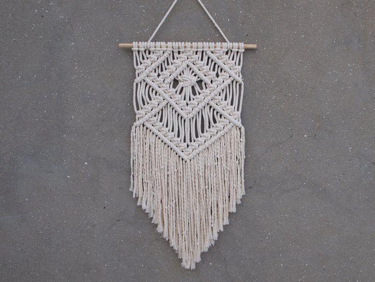 "Image of Boho wall hanging ""Amanda"""