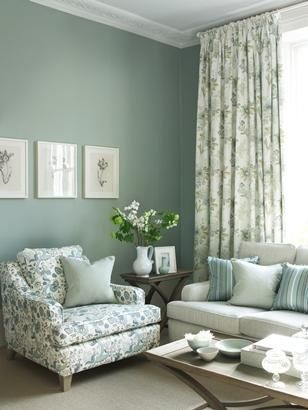 Blendworth Collections - duck egg blue interior