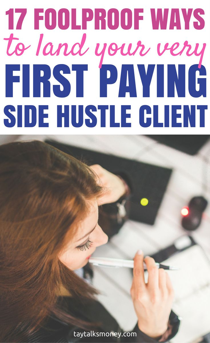 If you have a side hustle, learn affordable marketing techniques you can use to land your first few paying clients to make extra money.  Make extra money | Earn extra money | Side hustles