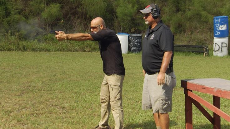 Team Springfield's Rob Leatham and PDN's Rob Pincus demonstrate skill development gun shooting drills for competition shooters and defensive shooters.