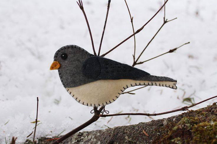 Dark-eyed Junco and dozens of bird patterns! What a find!
