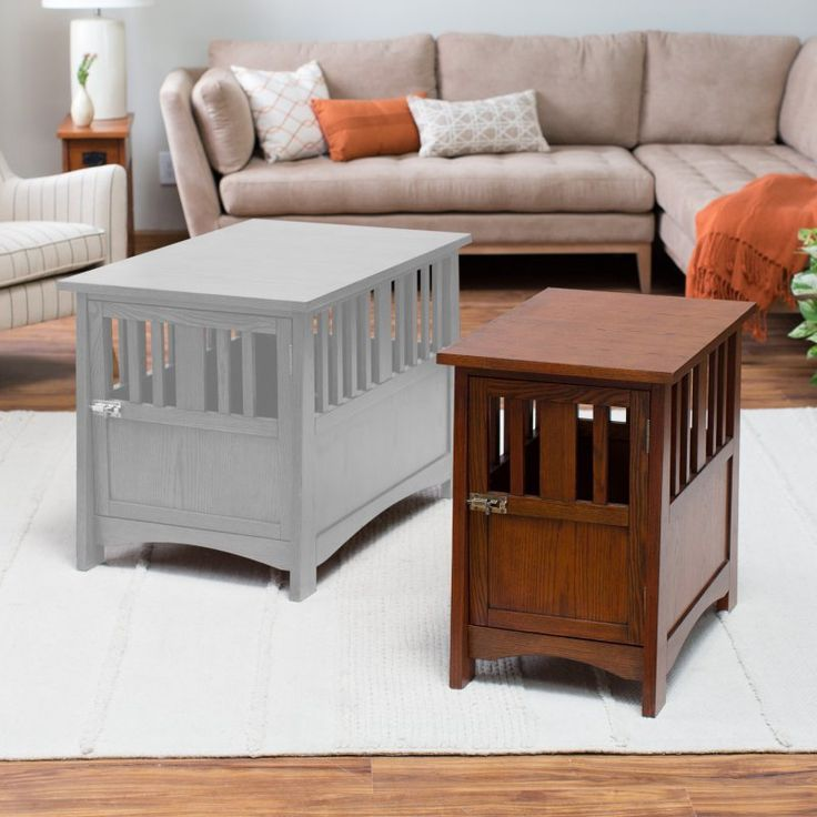Boomer & George Everett Mission Pet Crate End Table - CS-9119