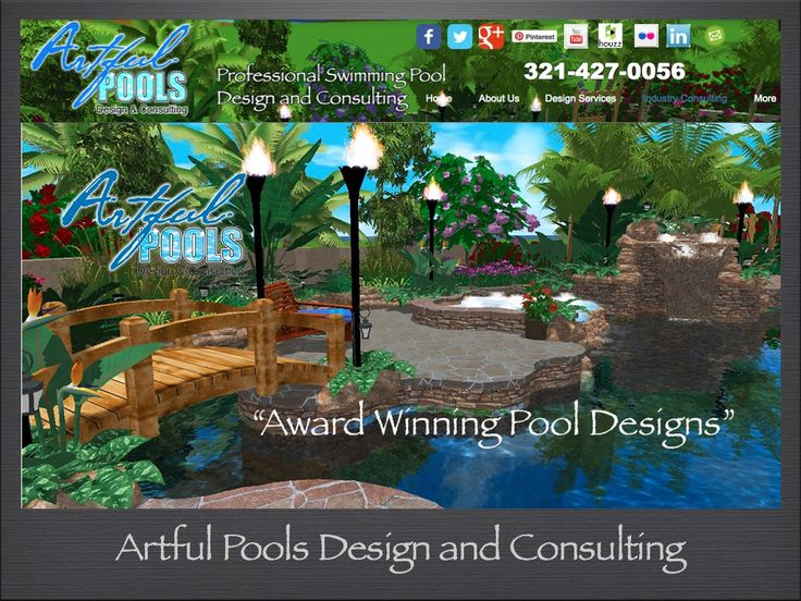 34 best 3d pool design portfolio images on pinterest for Pool design consultant