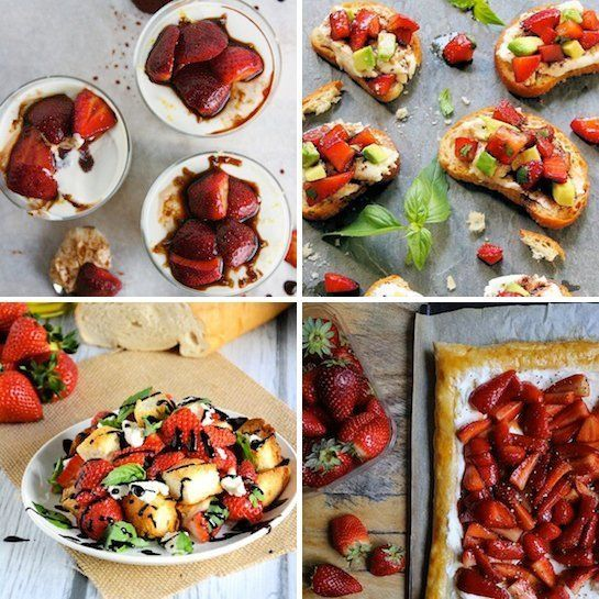 Definitive proof that Strawberries & Balsamic Vinegar belong together.  Four bloggers show us how it's done in today's Delicious Links.