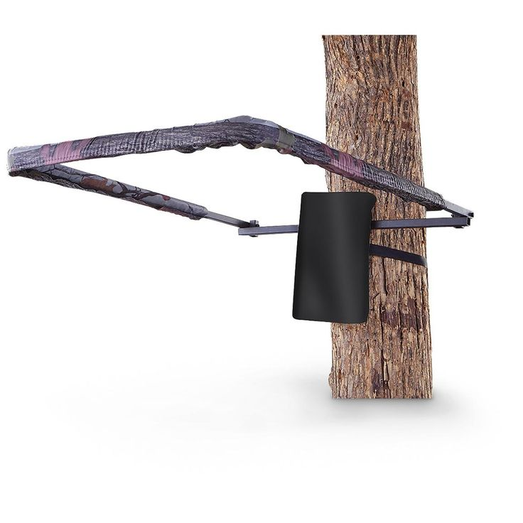 Guide gear universal padded shooting rail tree stand