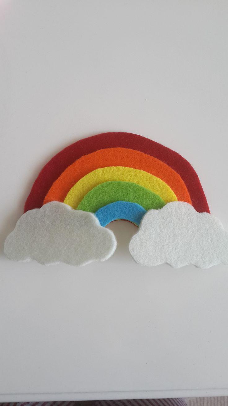 keçe, gökkuşağı, rainbow