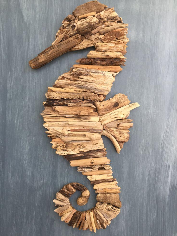 les 25 meilleures id es concernant hippocampe en bois flott sur pinterest art en bois flott. Black Bedroom Furniture Sets. Home Design Ideas
