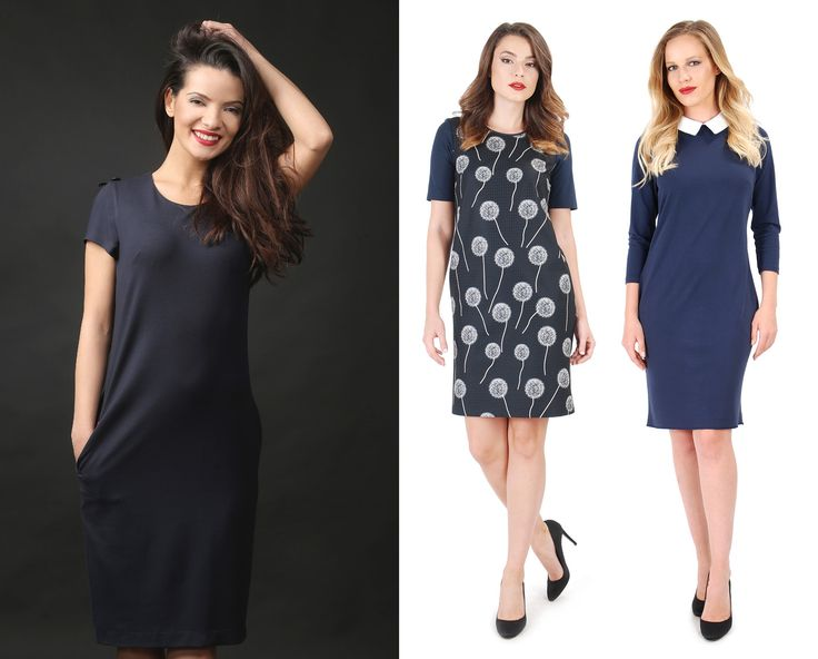 Feel relaxed! YOKKO   fall16  #dresses #daytime #casualoutfit #bleumarine #dandelion #yokkoinspiration #fashion #women