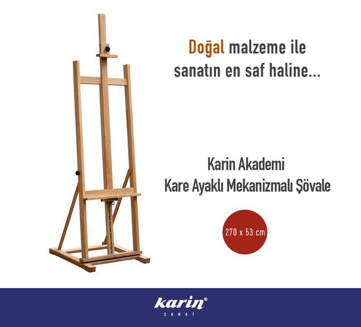 Karin Akademi Kare Ayaklı Mekanizmalı Şövale Akademi Şövalelerde %20 İndirim  http://karinsanat.com/catalog/categories/view/295 #resim #şövale