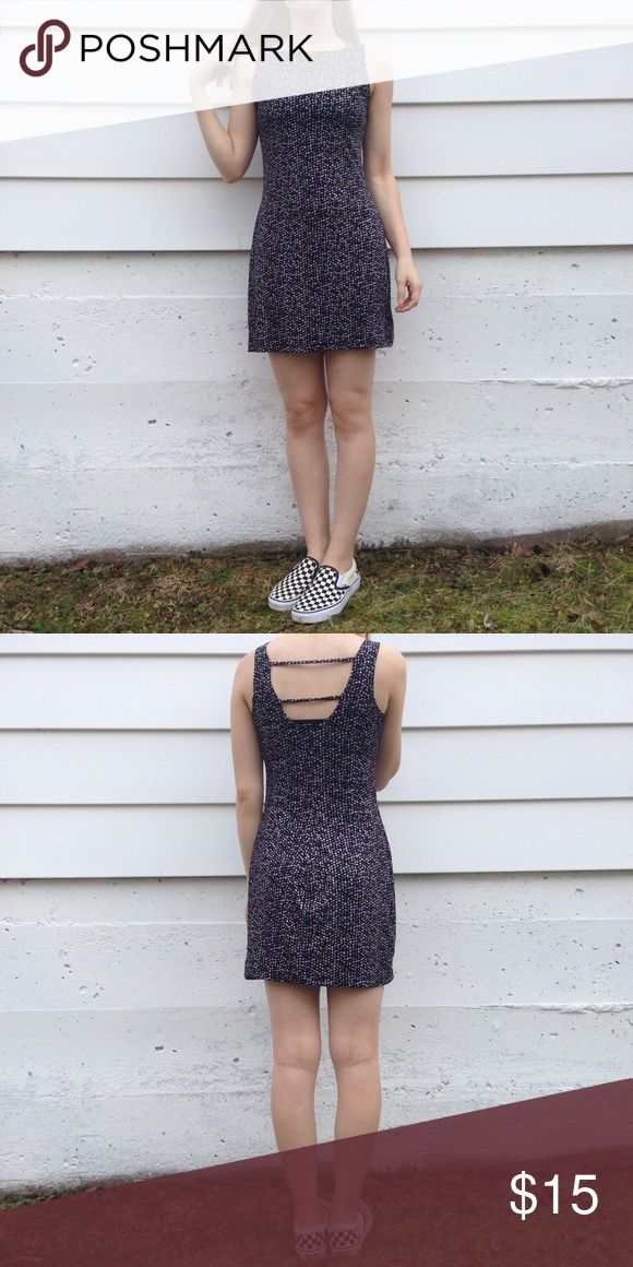 "Purple/Black/Silver Vintage 90s Club Kid Dress Such a BOMB 90s shimmery mini dress💣  Model Measurements:  Height: 5'7 Bust: 33"" Waist: 26""  Garment Measurements: Labeled size: Medium Armpit to Armpit: 15.5""- 20"" Shoulder to Hem: 31.5""  Material: 90% polyester, 10% spandex   Labeled Brand: I.N. San Francisco  Time Period: 1990's  Vintage Condition:  Excellent #90s #clubdress #90sdress # shimmer #minidress Vintage Dresses Mini"