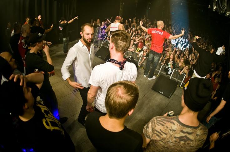 Rähinä Live 2012 - Nosturi  Kuvat: Julius Konttinen  http://juliuskonttinen.com/