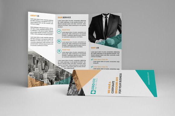Kreatif Trifold Brochure by assaiv on Creative Market