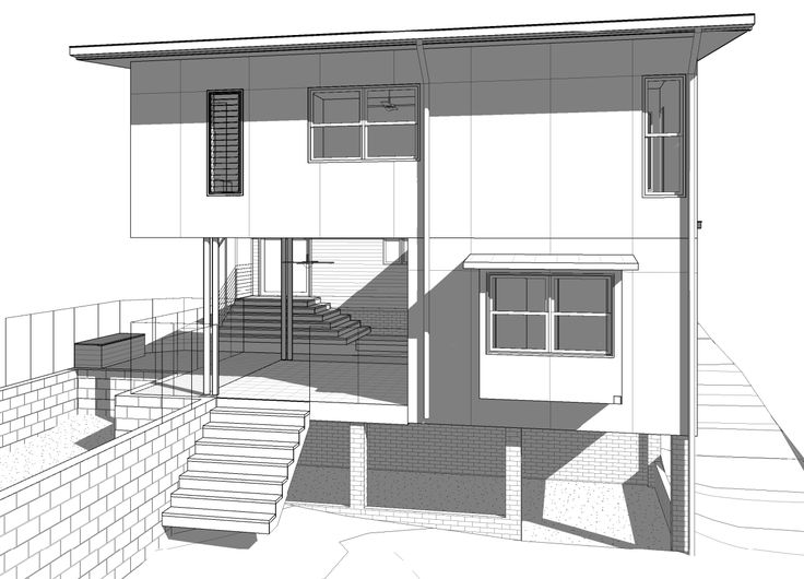 This trendy little house extension in Indooroopilly is getting structural drawings issued today. #trendy #archi #engineer #tgif