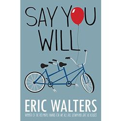 """Sam's school is swept up in """"promposals"""" in this new YA novel by Eric Walters. http://www.mastermindtoys.com/Say-You-Will-Novel.aspx"""
