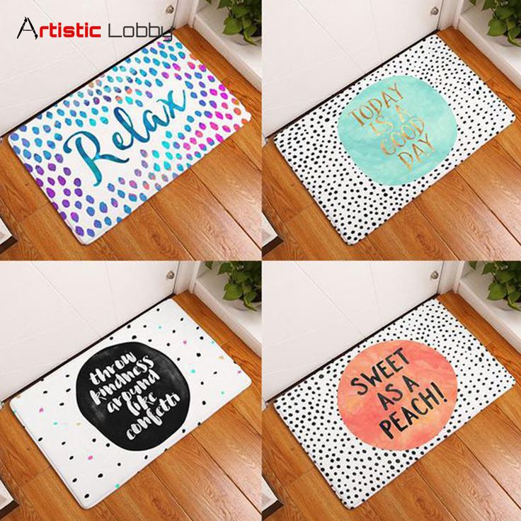 Colorful Words Anti-Slip Floor Mats. Tag a friend who needs this! 😍 📦 Worldwide Shipping 🔥 Extremely high demand! 🔺 GET YOURS VIA LINK IN BIO 💡 Follow Artistic Lobby for more ideas! #homedecor #home #homedesign #homedecordesign #homedesignideas #decoration #art #artoftheday #life #lifestyle #lifestyleblogger #words #floormat #love #happiness #instalove #xmas #christmas