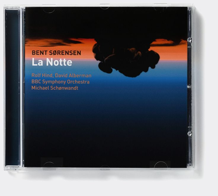 Bent Sørensen 'La Notte' (Dacapo Records). Album cover art: Denise Burt. Read the story about how the cover artwork was designed on http://seeingnewmusic.com/story/la-notte/?cat=featured&term=&offset=11 #albumart  #artmusic  #contemporaryclassical
