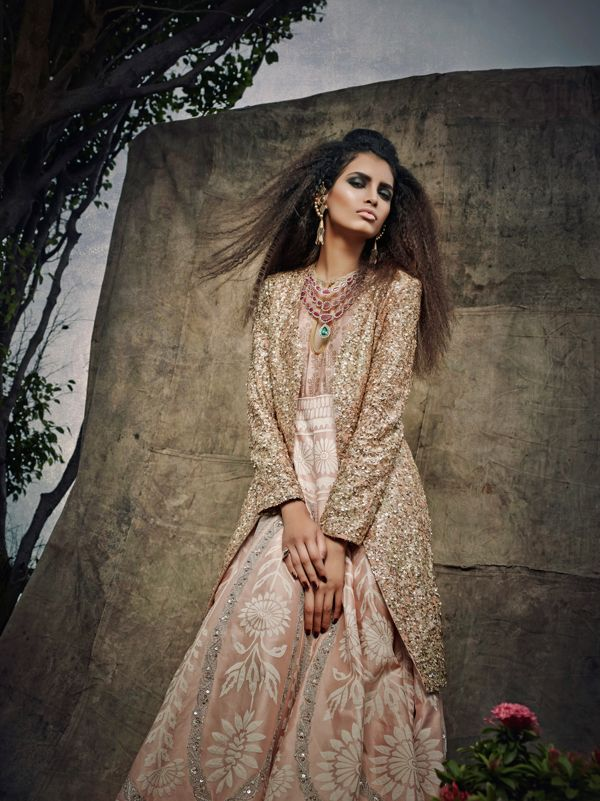 Once Upon A Bride By Jatin Lulla. #Lehenga