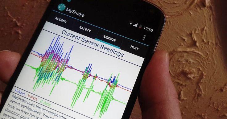 MyShake: Εφαρμογή σεισμογράφου για κινητά