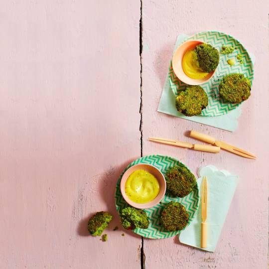 Gezond(er) snacken. Recept - Broccoli-nuggets - Boodschappenmagazine