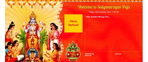 15 Format Of Satyanarayan Puja Invitation Card And Review