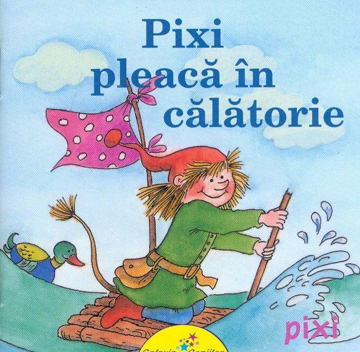 Pixi pleaca in calatorie - Anna Döring, Eva Wenzel - Bürger; Varsta: 2-5 ani O cărticică de purtat în buzunar, plină de aventuri și prieteni buni care au grijă unii de alții! Pixi, care se plictisește teribil, are chef de aventură. Pornește în lumea largă și pe drum are parte de aventuri palpitante!