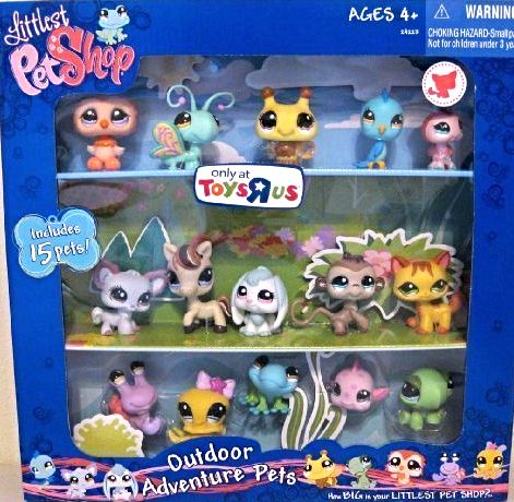NEW Littlest Pet Shop Outdoor Adventure Collectors TRU Set 15 Retired LPS Pets In Stock Now at http://www.bonanza.com/listings/NEW-Littlest-Pet-Shop-Outdoor-Adventure-Collectors-TRU-Set-15-Retired-LPS-Pets/285155083