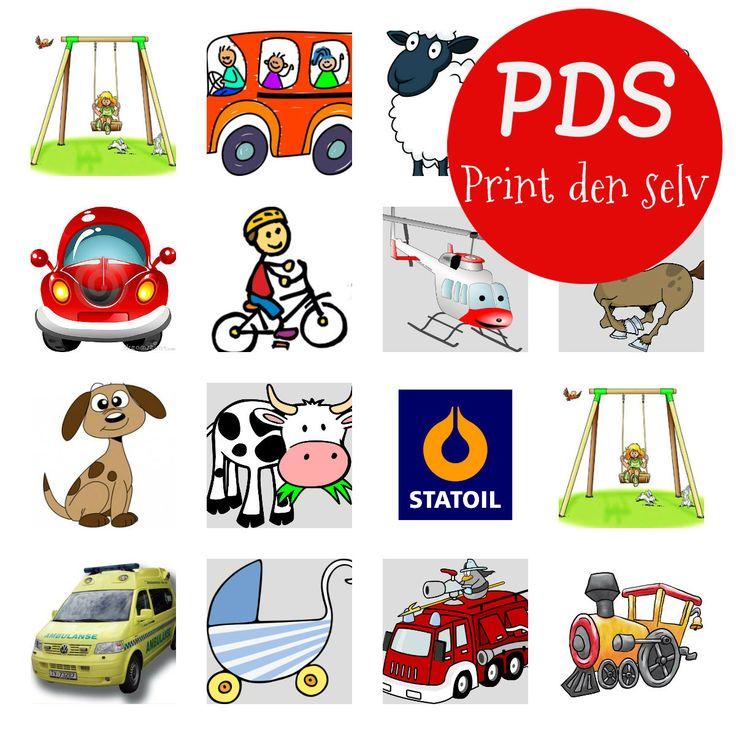 PDS (printdenselv) Bilbingo