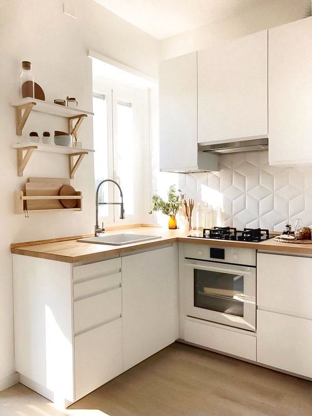 HOW TO BUILD A VERY SMALL KITCHEN in 2020   Small ...