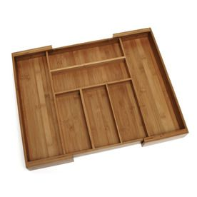 Style selections 18 in x 23 in bamboo multi use insert for Bamboo kitchen cabinets lowes