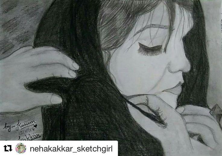 How sweet ❤️ Beautiful Sketch Kusum
