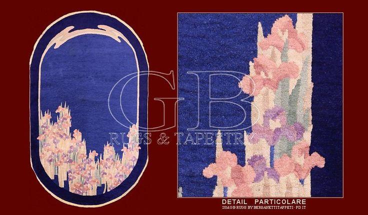Tappeti Nichols del periodo Déco, cinesi anni 20 e 30_141407765260  Peching Vintage Carpetcm 220 x 135ft 7'2 x 4'4